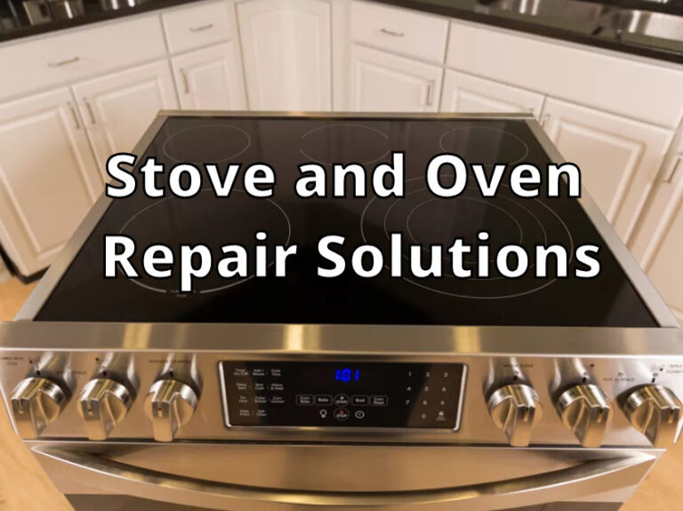 Stove and Oven Repair Solutions